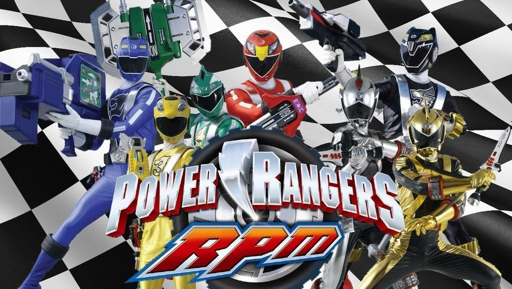 Siêu nhân xe đua - Power Rangers RPM