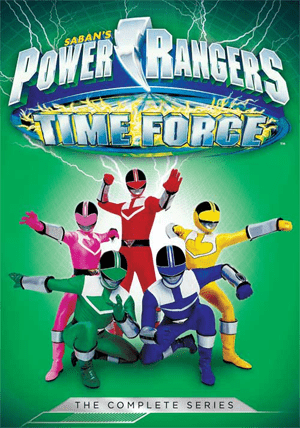 Power Rangers Time Force Thumb
