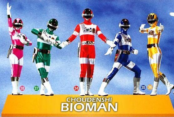 Choudenshi Bioman - Chiến đội điện tử Bioman