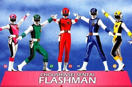 Choushinsei Flashman - Chiến đội Siêu lân tinh Flashman