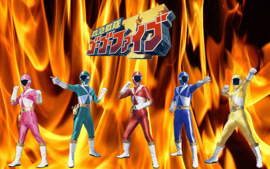 Kyuukyuu Sentai GoGo-V - Chiến đội Cứu hộ GoGoFive
