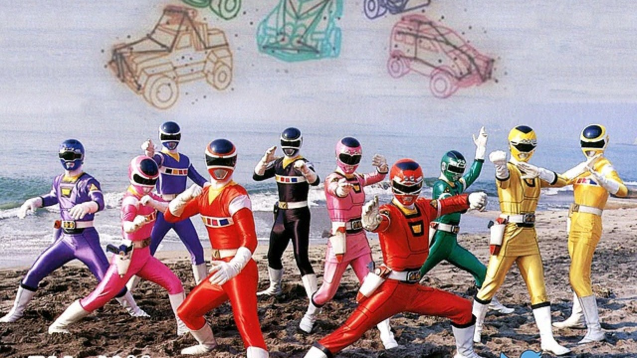 The Movie Denji Sentai Megaranger vs Carranger