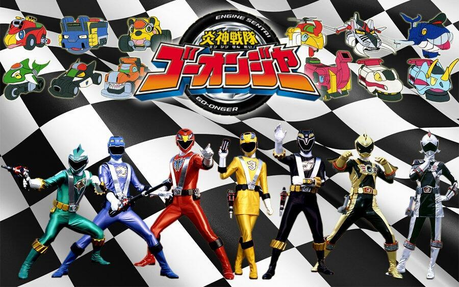 Engine Sentai Go-onger - Chiến đội động cơ Go-onger