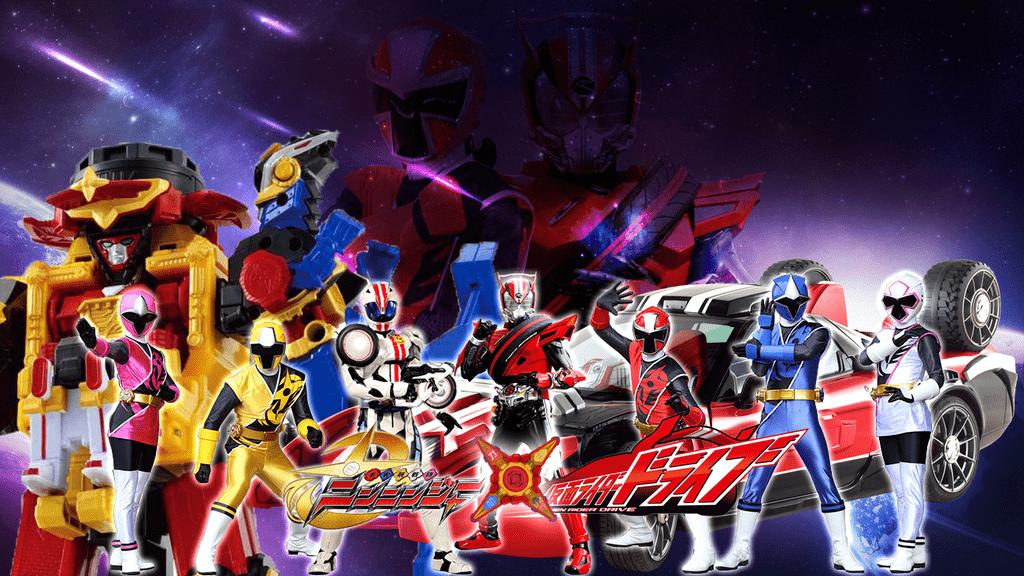 Shuriken Sentai Ninninger vs Kamen Rider Drive