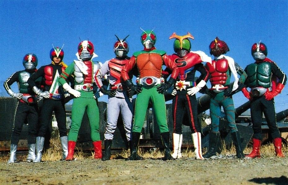 Kamen Rider 8 Riders VS Galaxy King