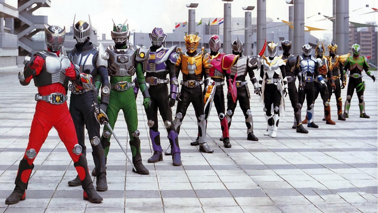 2002 - Kamen Rider Ryuki Special 13 Riders